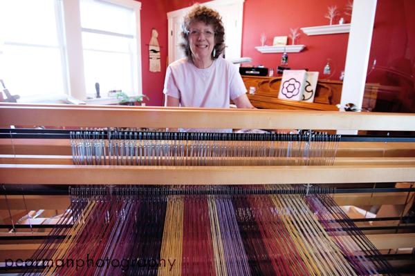 Linda Pearman's Weaving   ©2009 pearmanphotography